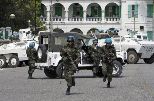 Article : Haïti: Le seul pays de l'Amérique à avoir sur son sol une force armée de l'ONU