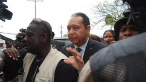 credit photo: Jean Claude Duvalier en 2011 au lendemain de son retour. Amelie Baron/rfi