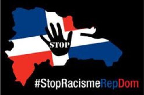 Article : Non au Racisme des Dominicains