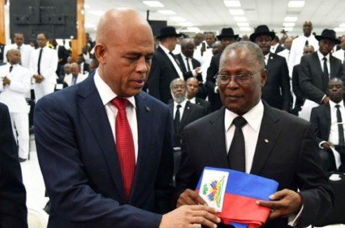 Article : Martelly rappelle Privert à l'ordre